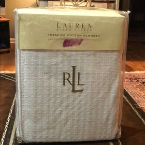 RALPH LAUREN king blanket